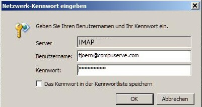 Setup Compuserve Classis Mail Using IMAP