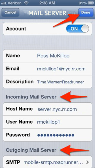 Road Runner Mail Server