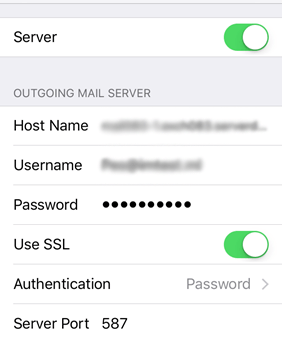 Setup Qwest Mail Server