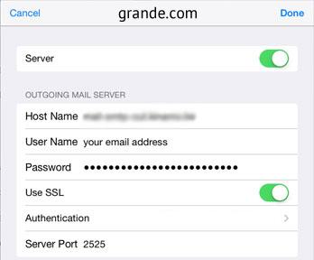 Setup Grande Mail Server